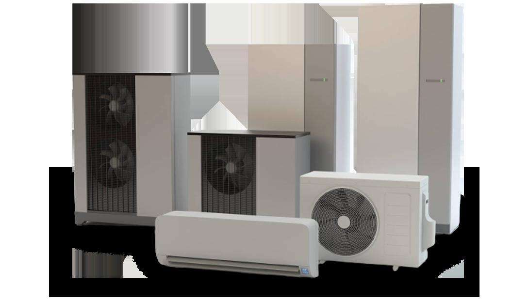 Klimatyzacja i pompy ciepła  renomowanych marek